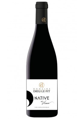 Native Rouge 2016 - vin rouge naturel - Remi Pouizin du Domaine Dieulefit