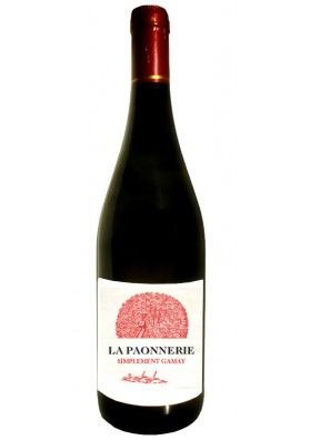 Simplement Gamay 2017 - Vin Rouge Naturel - Jacques Carroget Domaine La Paonnerie
