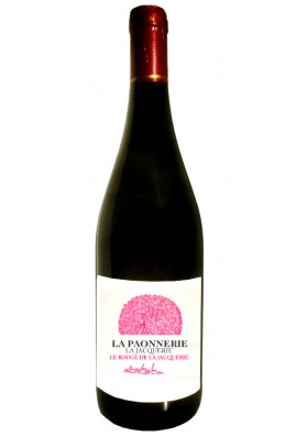 Rouge de La Jacquerie 2018 - Vin rouge naturel - Jacques Carroget  Domaine La paonnerie